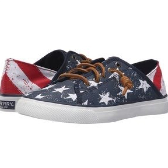 Sperry Shoes | American Flag Sperrys